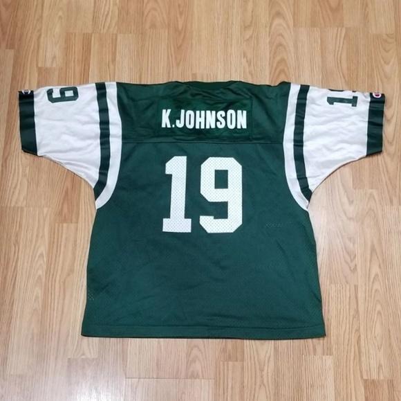 Champion New York Jets Keyshawn Johnson Jersey